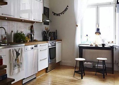Дизайн кухни 14 кв.м. (65 фото)