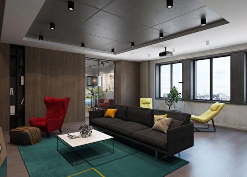 Дизайн-проект квартиры в ЖК «Эмеральд»