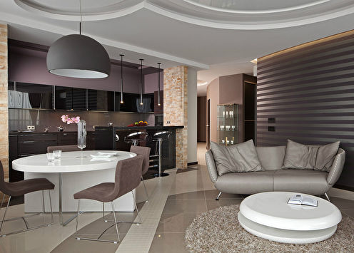 «Bachelor apartment»: Квартира в Харькове