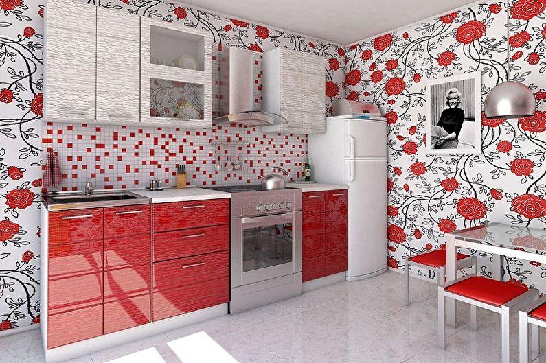 Обои для кухни - Что нужно знать, выбирая обои с рисунком