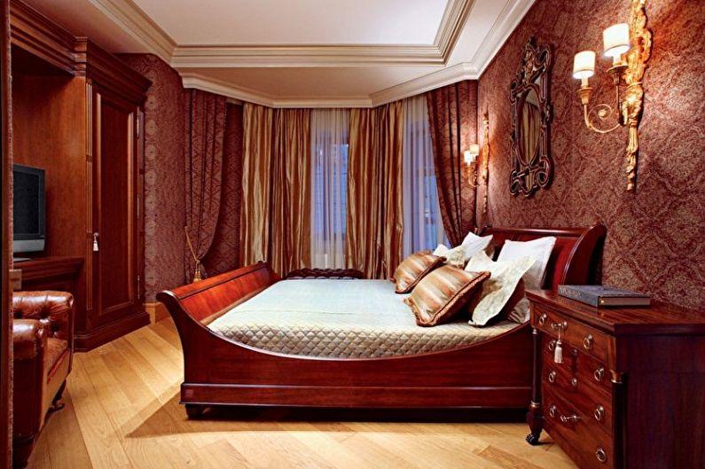 Виды обоев для спальни