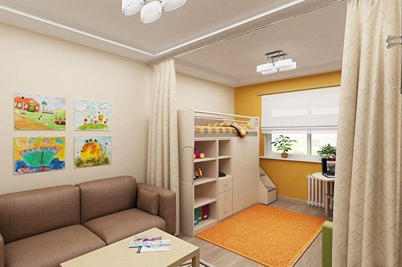 Как зонировать комнату для родителей и ребенка - Что такое зонирование и зачем это нужно