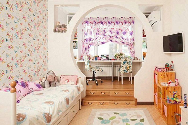 Как зонировать комнату для родителей и ребенка - Зонирование комнаты перегородками