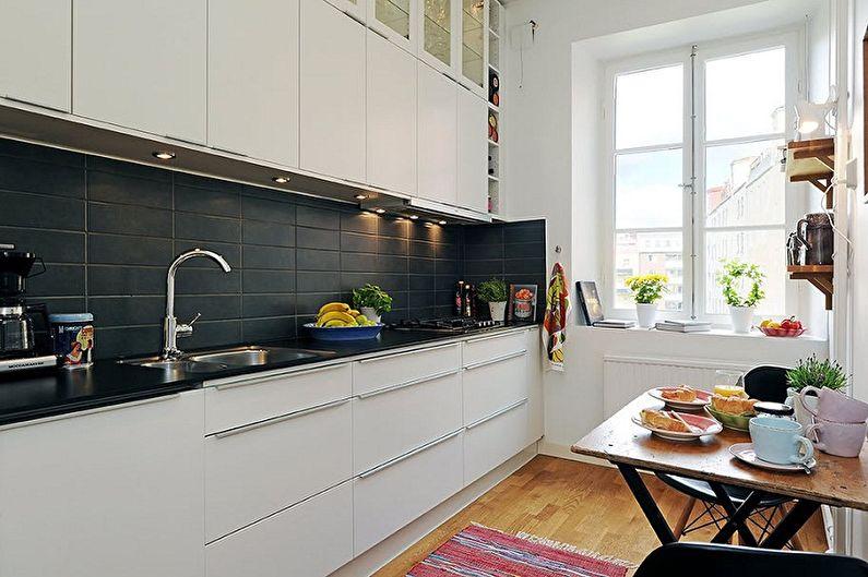Дизайн кухни 3 на 4 метра - Как скорректировать пространство кухни