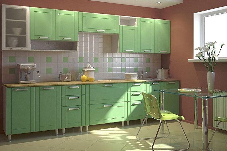 Дизайн кухни 3 на 4 метра - Цветовые решения