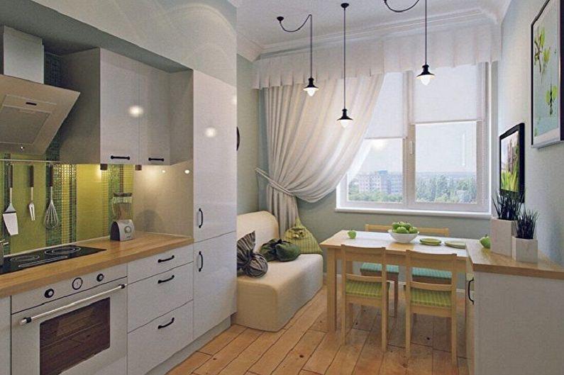 Дизайн интерьера кухни 3 на 4 метра - фото