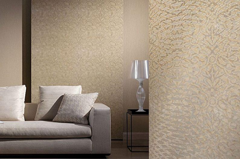 Виды обоев для стен - Флизелиновые обои