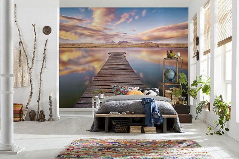 Виды обоев для стен - Фотообои