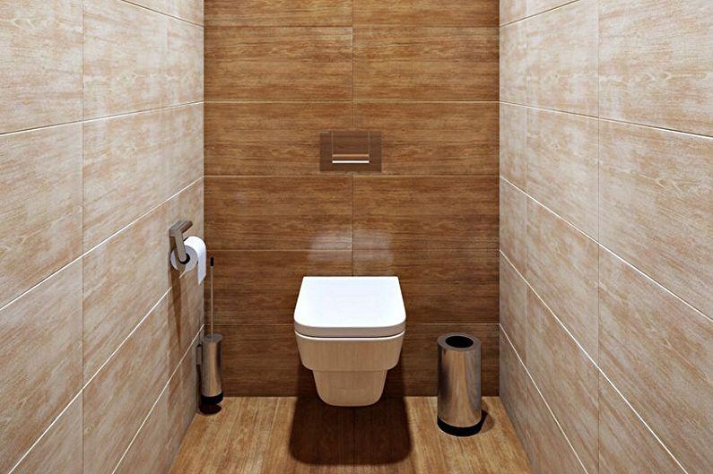 Материал для отделки стен в туалете - Керамическая плитка