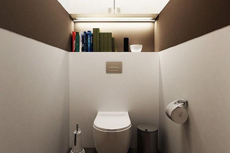 Материал для отделки стен в туалете - Гипсокартон