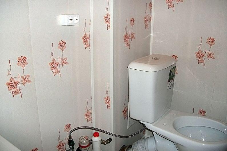 Материал для отделки стен в туалете - Панели ПВХ и МДФ
