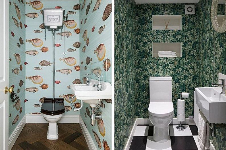 Отделка стен в туалете - Дизайн интерьера туалета
