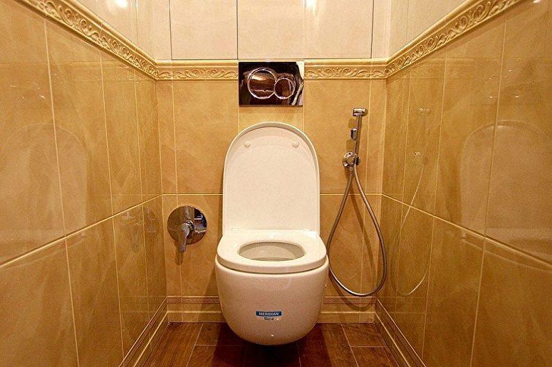 Дизайн туалета в хрущевке - С чего начинать ремонт