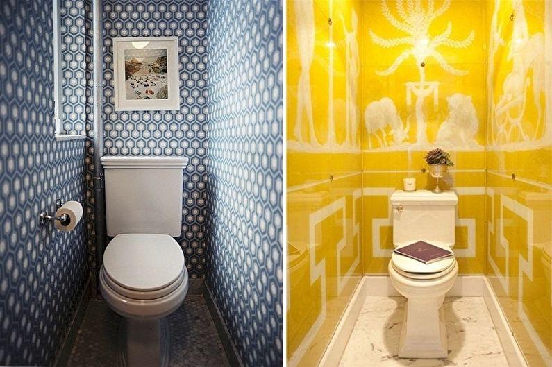 Дизайн туалета в хрущевке - Цветовые решения