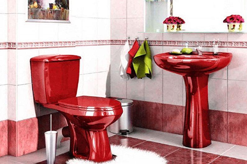 Дизайн туалета в хрущевке - Сантехника и мебель