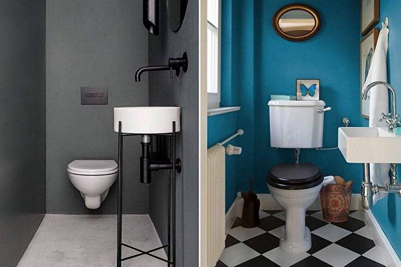 Дизайн интерьера туалета в хрущевке - фото