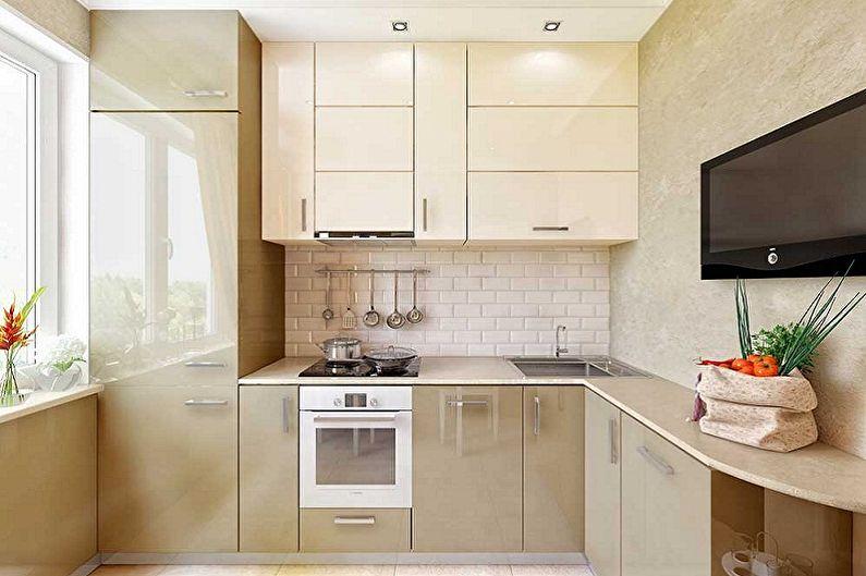 Дизайн кухни 3 на 3 метра - Особенности