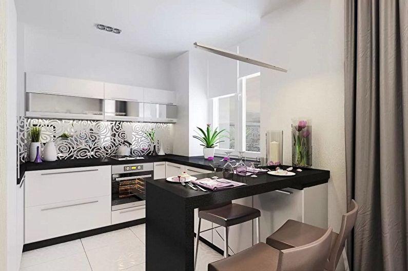 Дизайн кухни 3 на 3 метра - Как выбрать мебель