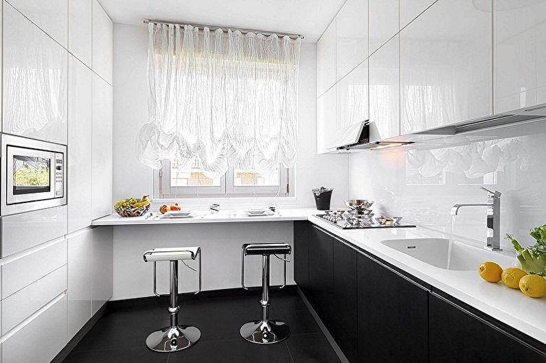 Дизайн кухни 3 на 3 метра - Отделка пола