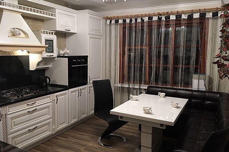 Кухня 3 на 3 метра в классическом стиле - Дизайн интерьера