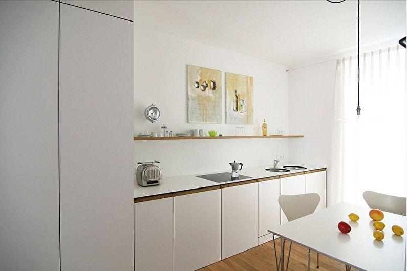 Кухня 3 на 3 метра в стиле минимализм - Дизайн интерьера