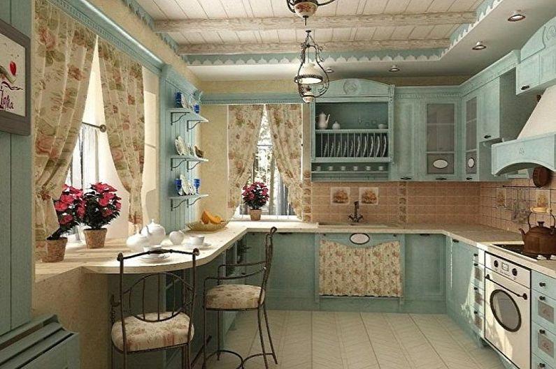 Кухня 3 на 3 метра в стиле прованс - Дизайн интерьера