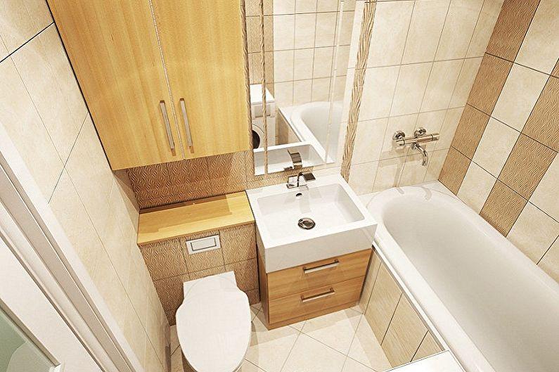 Дизайн ванной комнаты 5 кв.м. - С чего начать ремонт