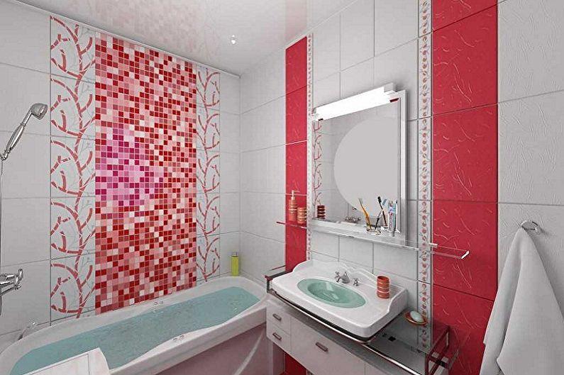 Дизайн ванной комнаты 5 кв.м. - Цветовые решения
