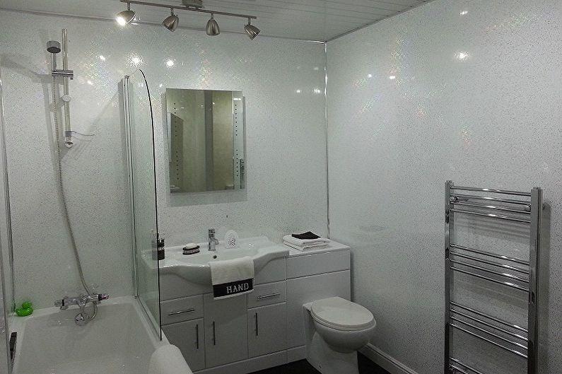 Дизайн ванной комнаты 5 кв.м. - Отделка стен