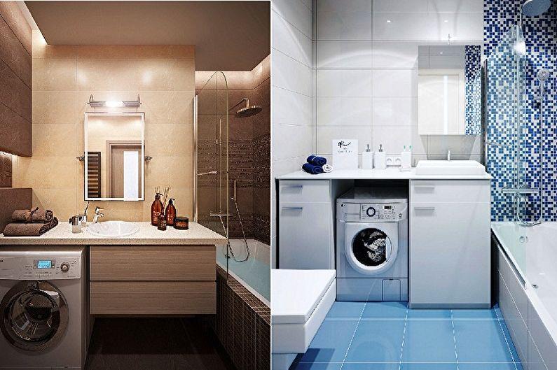 Дизайн ванной комнаты 5 кв.м. - Сантехника и мебель