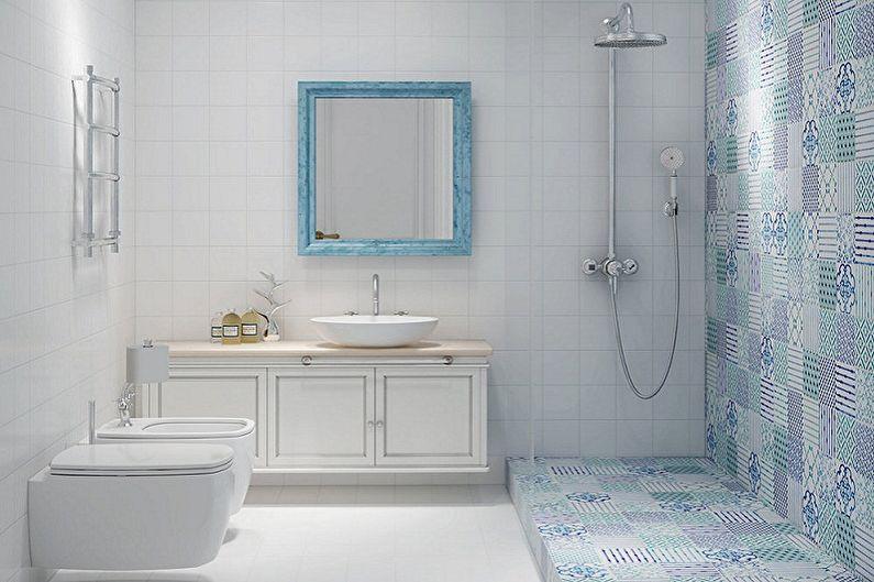 Ванная комната 5 кв.м. в скандинавском стиле - Дизайн интерьера