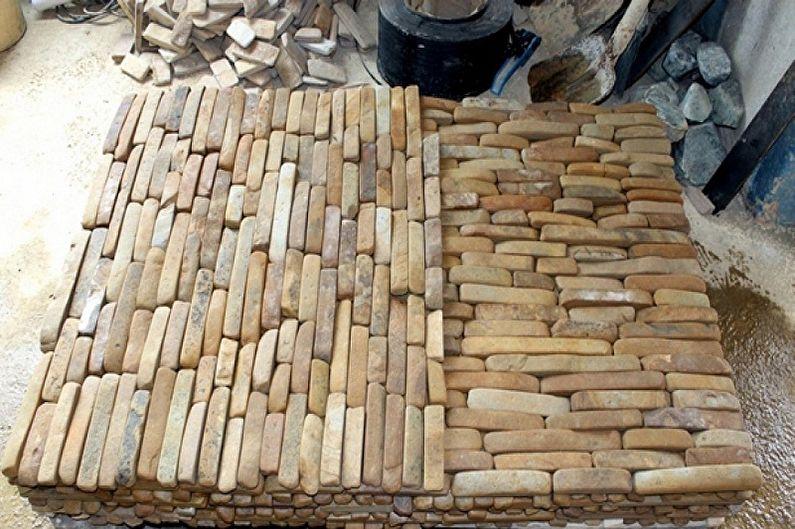 Виды декоративного камня - Формы