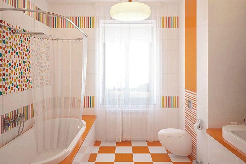 Дизайн ванной комнаты 6 кв.м. - Цветовые решения