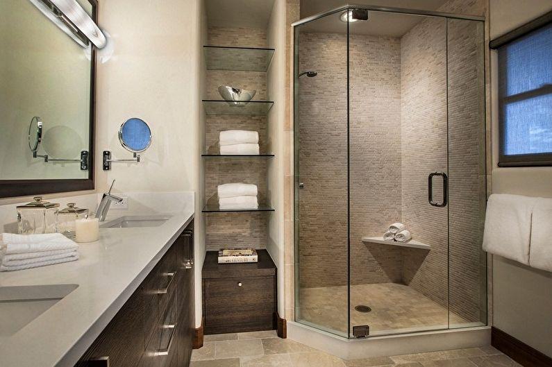 Дизайн ванной комнаты 6 кв.м. - Сантехника и мебель