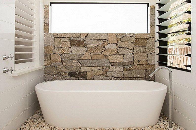 Дизайн интерьера ванной комнаты 6 кв.м. - фото