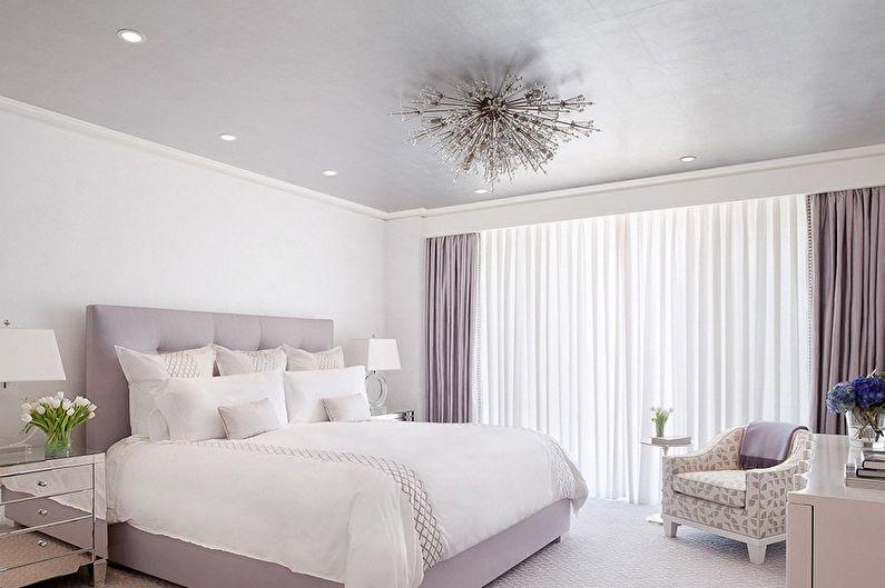Белые обои для спальни - Цвет обоев для спальни