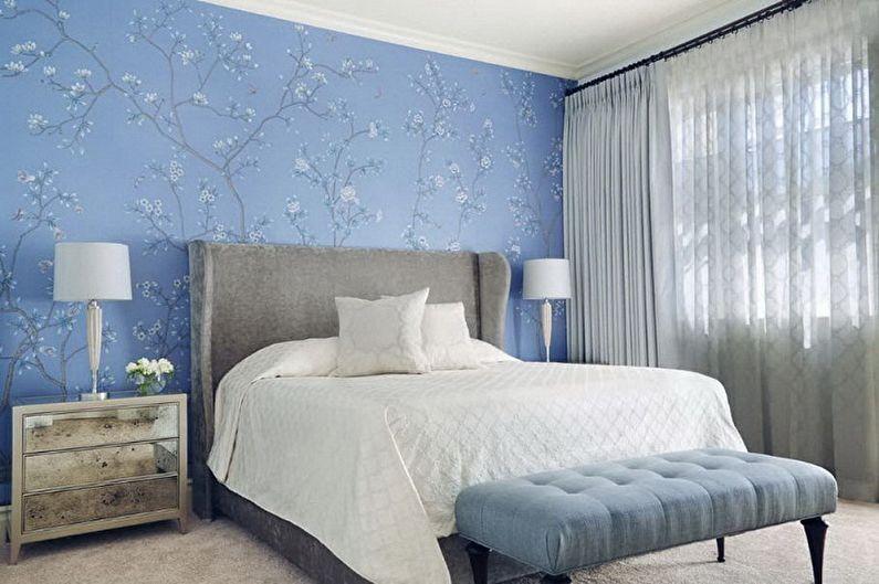 Цвет обоев для спальни - фото и идеи