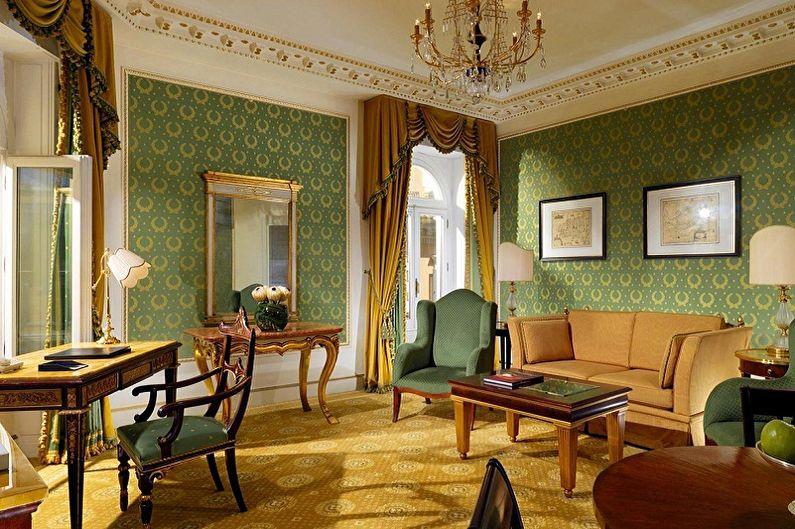 Цвет обоев для гостиной (75 фото) - идеи дизайна, как выбрать