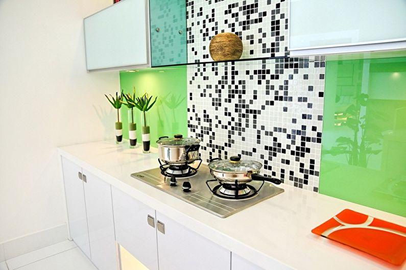 Дизайн кухни 4 кв.м. - Отделка стен