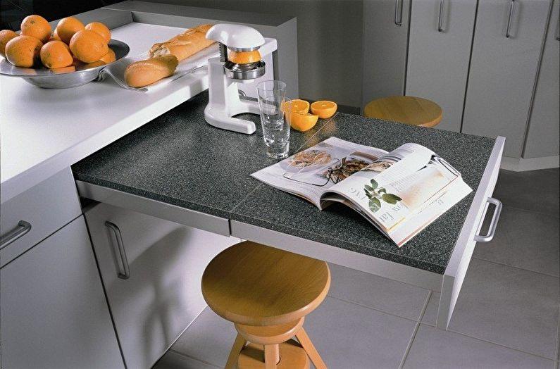 Дизайн кухни 4 кв.м. - Мебель