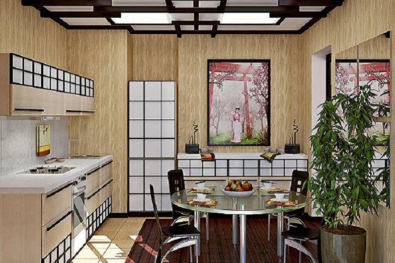 Дизайн кухни в японском стиле - Особенности