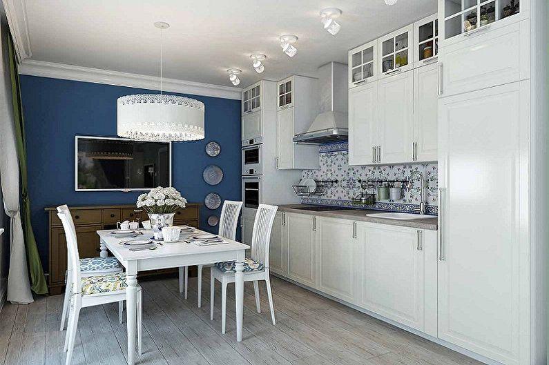 Дизайн маленькой кухни - Цветовые решения