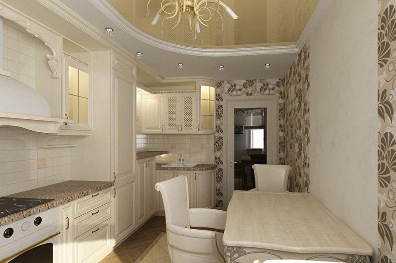 Маленькая кухня в классическом стиле - Дизайн интерьера
