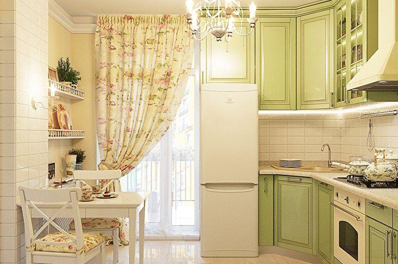 Маленькая кухня в стиле прованс - Дизайн интерьера