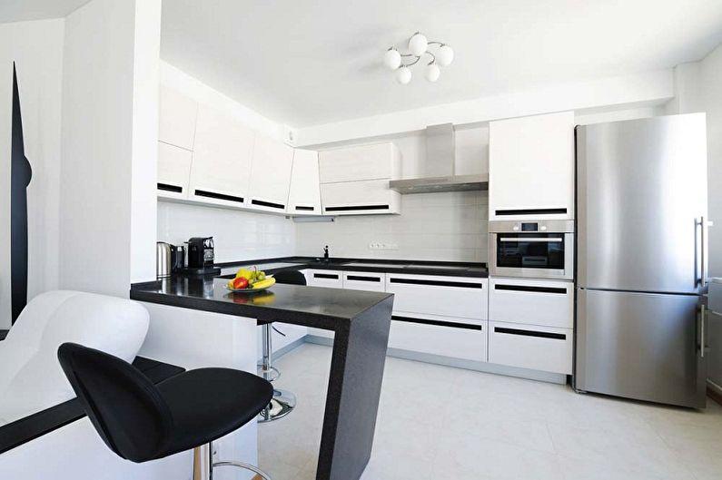Дизайн кухни в стиле минимализм - Особенности