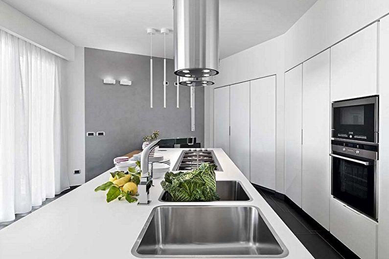 Дизайн кухни в стиле минимализм - Мебель