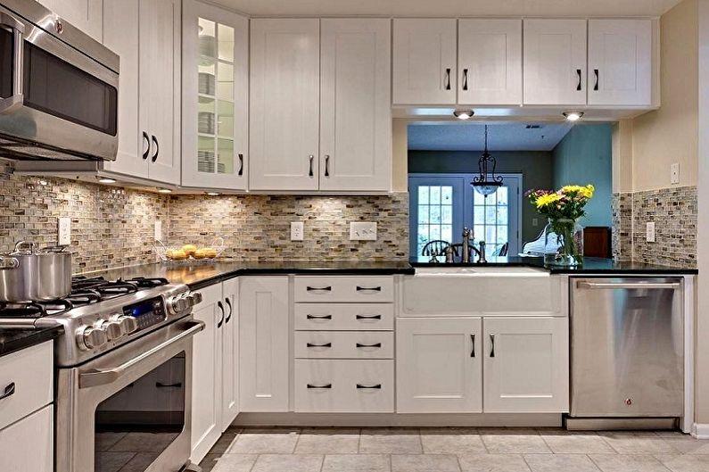Отделка рабочей стены на кухне - Основные особенности