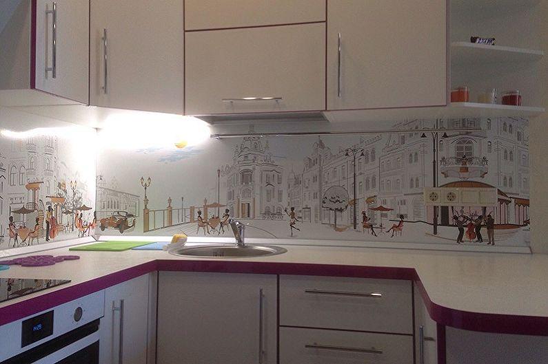 Картинке на кухне панель