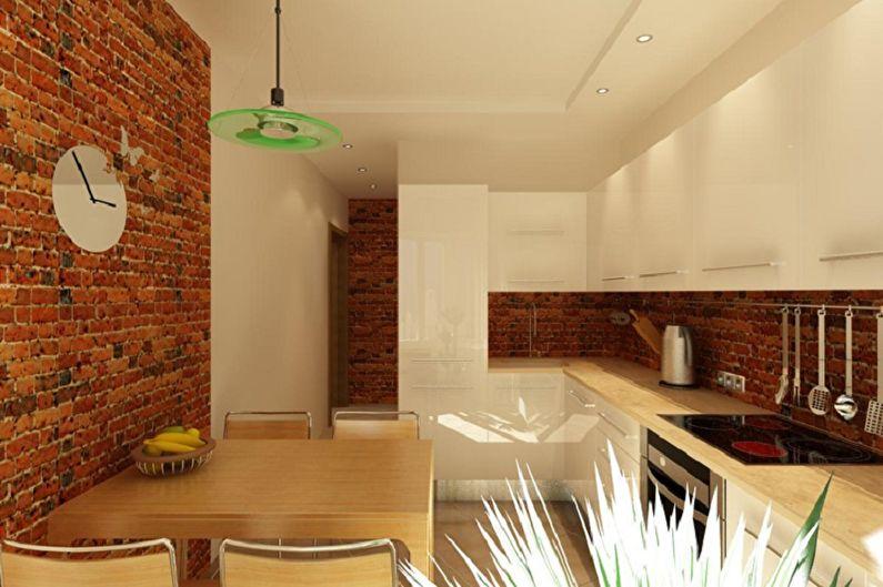 меня дизайн отделки стен кухни фото еще