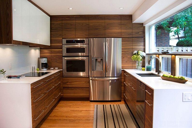 Дизайн кухни 3 на 4 метра (80 фото)